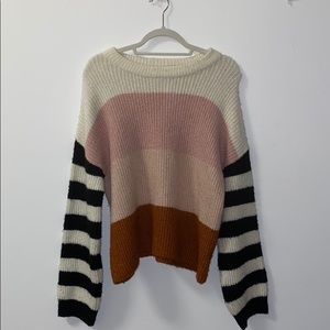 Urban Outfitters multi-colored sweater